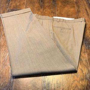 Tan/khaki dress slacks - Pronto Uomo